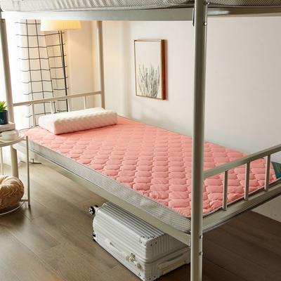 2020新品学生床垫 乳胶床垫 全棉面料海绵床垫 不变形 可回弹 可定制 0.9x2.0米-5cm 玉色