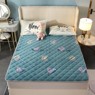 2020新款牛奶绒床垫 网红热款床垫 防滑可机洗保暖床褥子 防滑地垫 支持定制 0.9x2.0m 自由飞翔