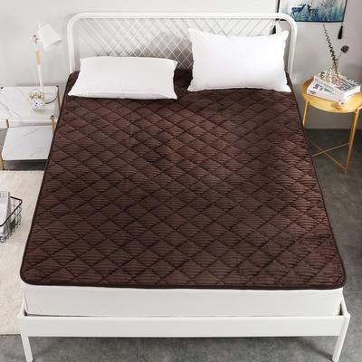 2020新款魔法绒系列床垫 0.9x2.0米 精英咖