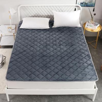 2020新款魔法绒系列床垫 0.9x2.0米 绅士灰