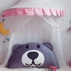 2019新款靠枕 1米高50 灰熊