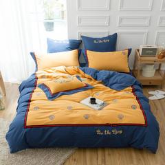埃及棉磨毛系列四件套(皇家风范) 小抱枕含芯/个 皇家风范