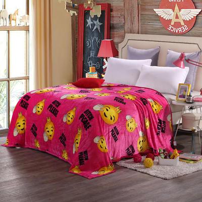 260克雪貂绒毛毯 加厚绒毯 休闲毯 盖毯 120×200 1拜托小姐