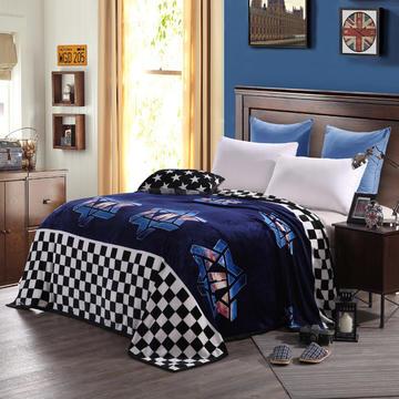 260克雪貂绒毛毯 加厚绒毯 家用毛毯床品