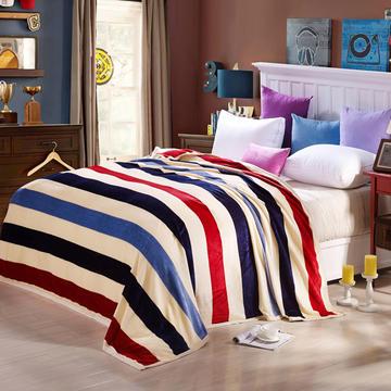 260克雪貂绒毛毯 加厚绒毯 休闲毯 盖毯