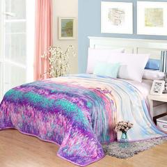320克云貂绒毛毯 120×200 普罗旺斯