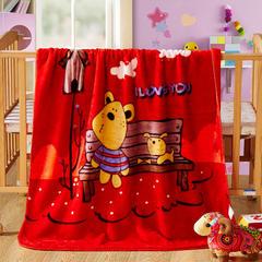 儿童云毯 小号100×120 笨笨熊