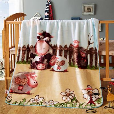 儿童云毯 小号100×120 开心农场