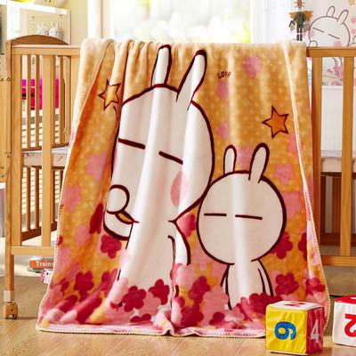 儿童云毯 小号100×120 萌萌兔