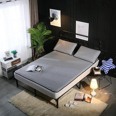 冰爽丝空调软席三件套 1.5m(5英尺)床 纯色灰色