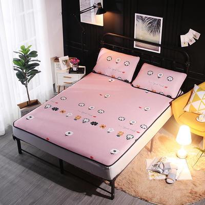 冰爽丝空调软席三件套 1.5m(5英尺)床 飞花粉