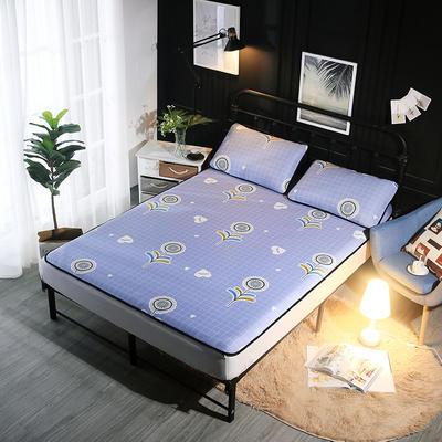 冰爽丝空调软席三件套 1.5m(5英尺)床 蒲公英蓝