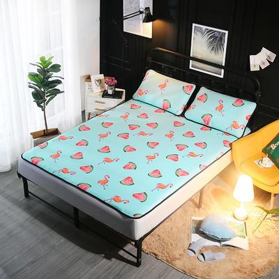 冰爽丝空调软席三件套 1.5m(5英尺)床 西瓜
