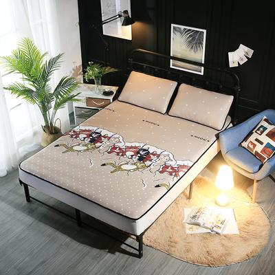 冰爽丝空调软席三件套 1.5m(5英尺)床 小猫一家