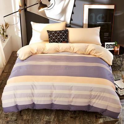 A版全棉B版加厚法兰绒被套单件 棉加绒 155*205cm 罗曼生活