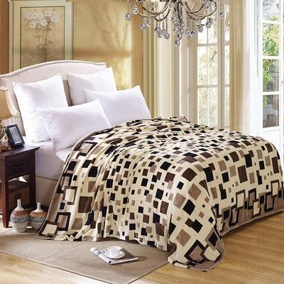 200克法莱绒毯 加厚珊瑚绒毛毯 120*200 自由格调