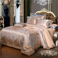 卡诗兰顿   贡缎提花四件套 1.8m(6英尺)床 迷情岁月