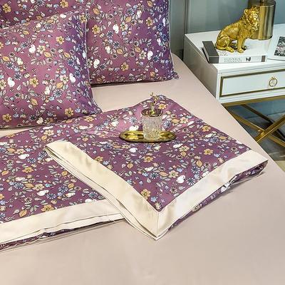2020新款天丝绸夏被四件套 180x220cm夏被 凉笙紫