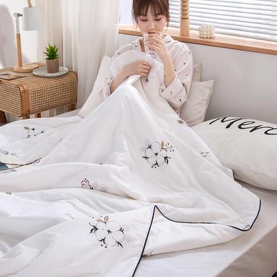 2020新款60支新疆棉花夏被 150x200cm 棉花情缘