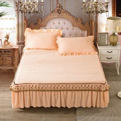 欧式蕾丝单品床裙新款 枕套(48*74cm) 米兰之夜