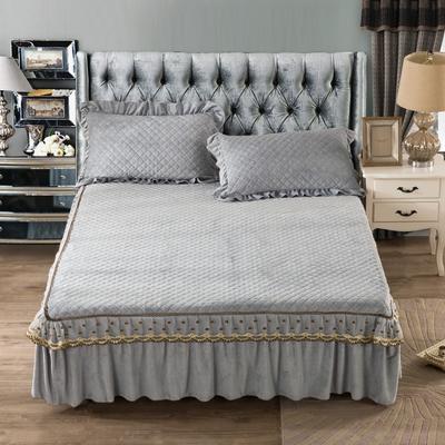 欧式蕾丝单品床裙新款 枕套(48*74cm) 盛世华庭