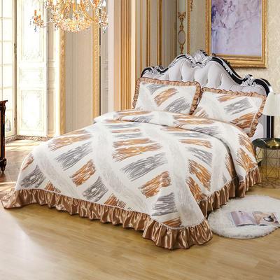 2020新款北欧风针织棉床盖三件套 230x245cm三件套 波西米亚