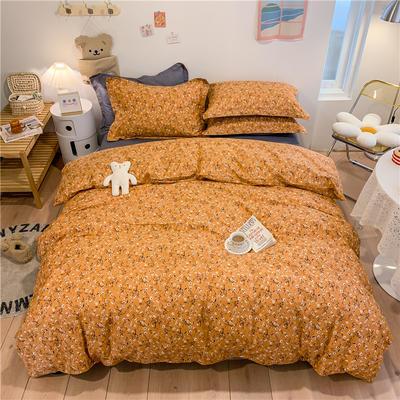2021新款全棉印花四件套 1.8m(6英尺)床 纯粹