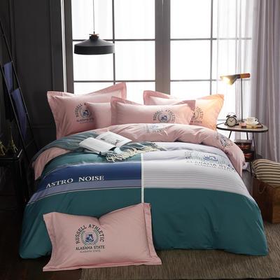 2019新款 -13372年40匹马棉大版花四件套第二批 床单款1.5m(5英尺)床 奥本