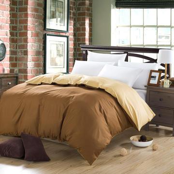 三诺家纺 全棉素色单被套1.8m(6英尺)床