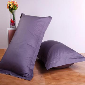 三诺家纺 全棉素色枕套单只