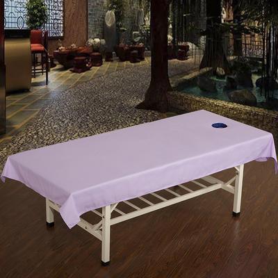 2019新款美容单品:按摩床单+被心 120cmx240cm 浅紫