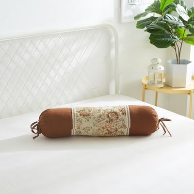 2019新款美容单品:糖果枕+枕心 咖啡