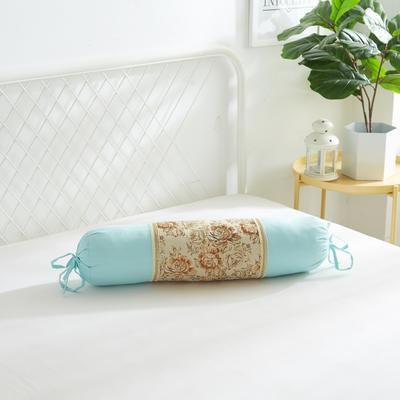 2019新款美容单品:糖果枕+枕心 湖蓝