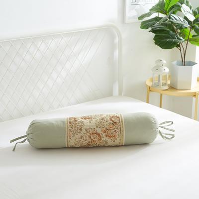 2019新款美容单品:糖果枕+枕心 浅豆绿
