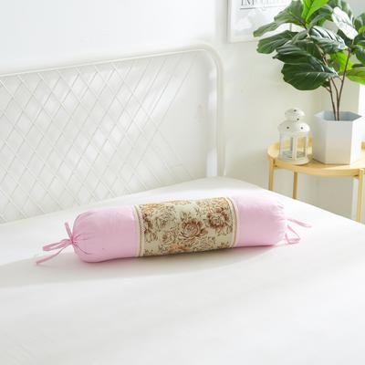 2019新款美容单品:糖果枕+枕心 浅粉