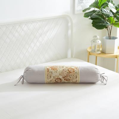 2019新款美容单品:糖果枕+枕心 浅灰