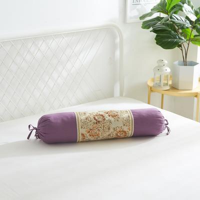 2019新款美容单品:糖果枕+枕心 香槟紫