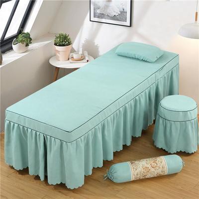 2020新款棉麻单独床罩 70*185cm单床罩 翠绿