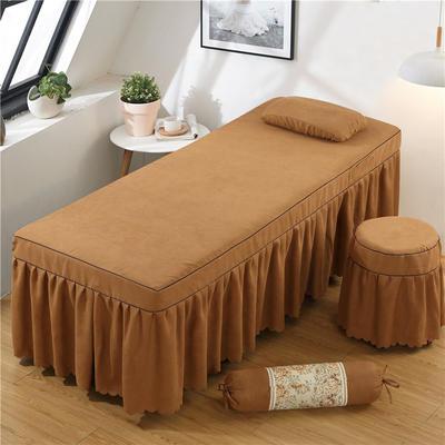 2020新款棉麻单独床罩 70*185cm单床罩 咖啡