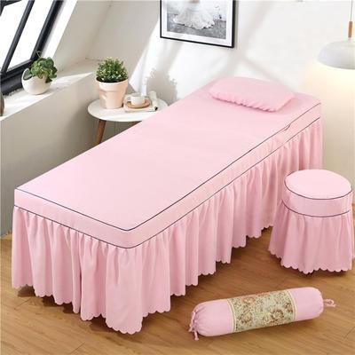2020新款棉麻单独床罩 70*185cm单床罩 浅粉