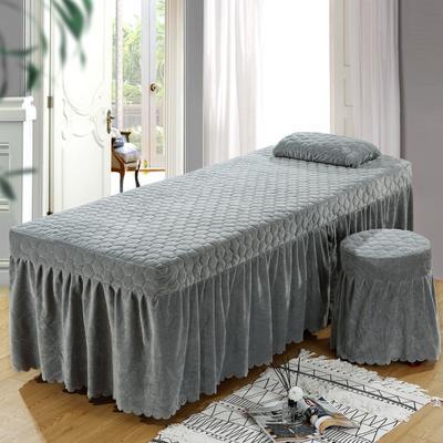 2020新款水晶绒单独床罩 70*185cm单床罩 灰色