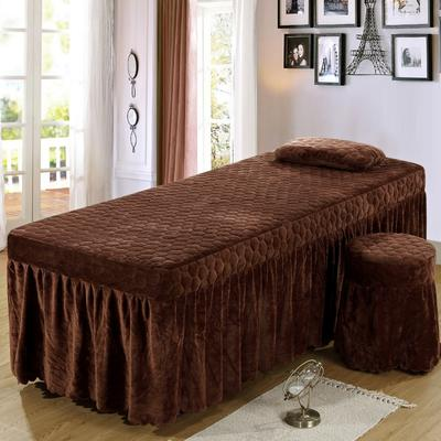 2020新款水晶绒单独床罩 70*185cm单床罩 咖啡
