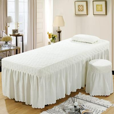 2020新款水晶绒单独床罩 70*185cm单床罩 米白色