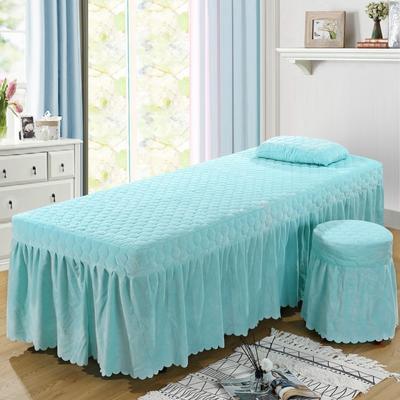 2020新款水晶绒单独床罩 70*185cm单床罩 天蓝
