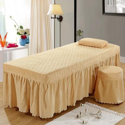 2020新款水晶绒单独床罩 70*185cm单床罩 驼色