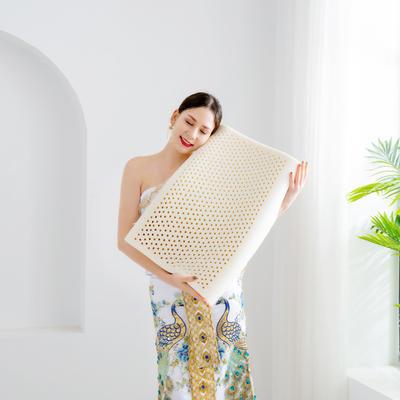 2020新款成人乳胶枕 曲线枕 40*60cm含内外套