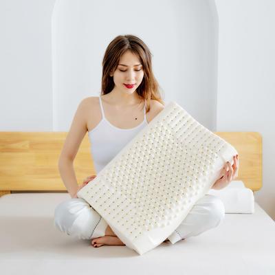 2020新款学生乳胶枕 30*50cm 含内外套 颗粒枕