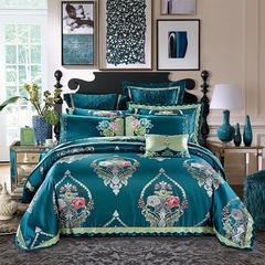 奢华超精密系列四 六 八 十 多件套—赛洛华庭 小抱枕 墨绿