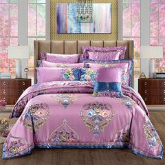 奢华超精密系列四 六 八 十 多件套—赛洛华庭 小抱枕 浅紫