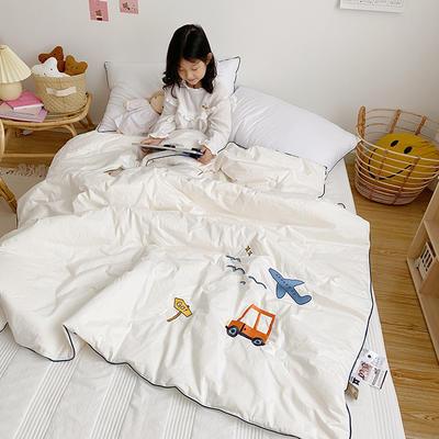2020新款秋冬新品儿童被被子被芯 150x200cm重5.6斤 白色